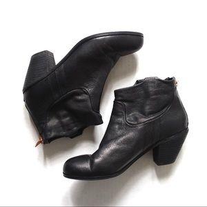 💚 Sam Edelman Lisle Booties Leather Boots 8.5